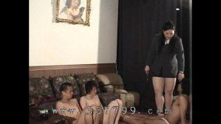 Big queen Naoko Oosako chair selection hardcore fuck
