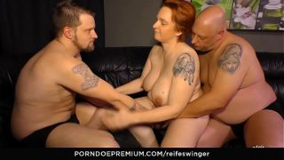 Gonzo Mmf threeway with naughty matures