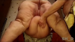 Mega fat Russian whore loves hardcore fuck huge big ass pounding